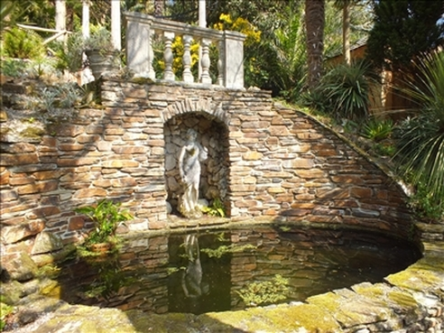 Lamorran House garden, Cornwall
